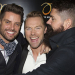 Boyzone show their support for Ronan Keating's stage debut in Once