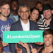 Sadiq Khan drops in on Hamilton and Sweeney Todd