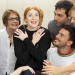Patti LuPone, Rosalie Craig and cast of Company in rehearsals