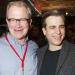 In pictures: Harry Enfield celebrates opening night of Once in a Lifetime