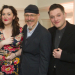 Griff Rhys Jones and the cast of The Miser celebrate opening night