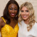 Beverley Knight visited backstage at Bodyguard by Saturdays' Mollie King