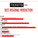 Spotlight On: The Tickets.com Best Regional Production Award