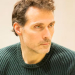 Rufus Sewell, Nancy Carroll and Oliver Chris rehearse Donmar's Closer
