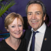 Robert Lindsay and Claire Skinner celebrate opening night of Prism