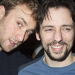 Miranda Hart, Charlie Condou and Ralf Little celebrate opening night of My Night With Reg