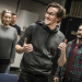 Oliver Savile and cast in rehearsals for Company in Aberdeen
