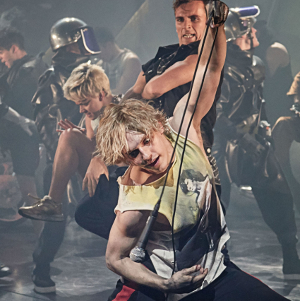 First look: Andrew Polec and the cast of <em>Bat Out Of Hell</em>