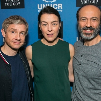 Martin Freeman, Olivia Williams, James Norton and more star in refugee gala