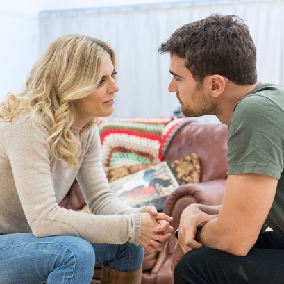 First look at Emilia Fox and Theo James in <em>Sex With Strangers</em>
