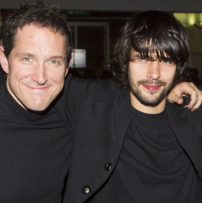 Ben Whishaw and Bertie Carvel celebrate opening night of <em>Bakkhai</em>