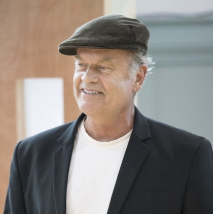 Kelsey Grammer and Clare Burt in rehearsals for <em>Big Fish</em>