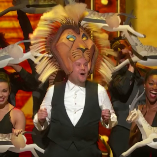 James Corden's opening number at the 2016 Tony Awards