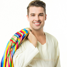 Joe McElderry stars in <em>Joseph and the Amazing Technicolor Dreamcoat</em> tour