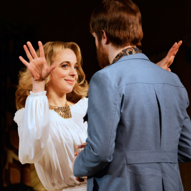 First look at Amanda Abbington and cast in Abigail's Party