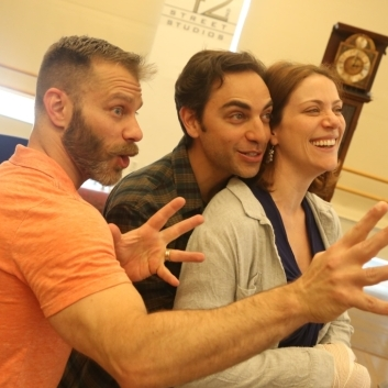 In pictures: <em>Into The Woods</em> rehearsals