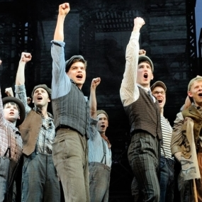 Disney's <em>Newsies</em> is coming to a cinema near you