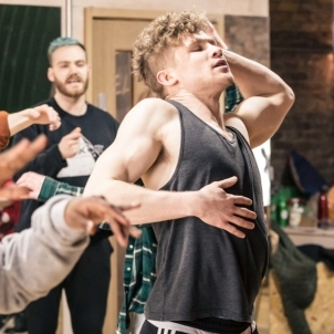 Spring Awakening revival at Hope Mill Theatre in rehearsals
