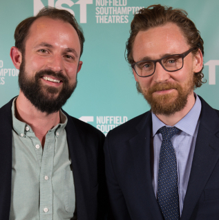 Tom Hiddleston, David Suchet and cast of <em>The Shadow Factory</em> celebrate opening of NST City