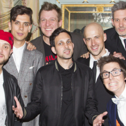 Dynamo amongst guests at opening night of <em>Impossible</em>