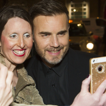 Photos: Gary Barlow and stars  at <em>The Girls</em> gala night
