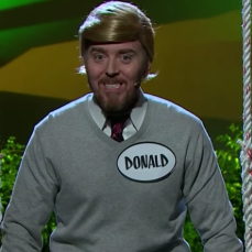 "James Corden and Tim Minchin perform ""When I Grow Up"" from <em>Donald: The Musical</em>"