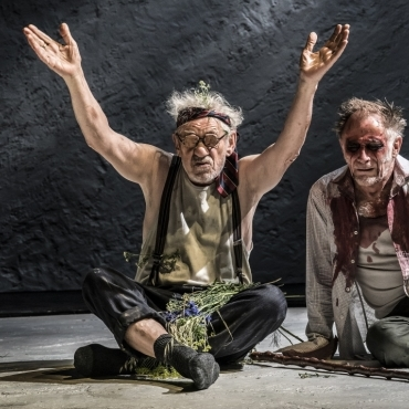 Ian McKellen as King Lear in the West End: first look