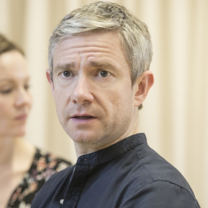 Exclusive: First look at Martin Freeman, Tamsin Greig and cast of <em>Labour of Love</em>
