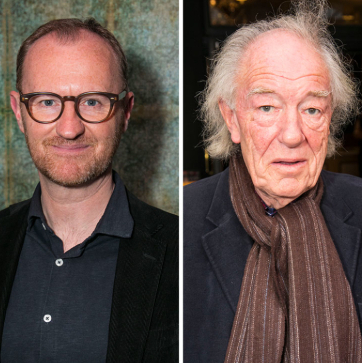 Michael Gambon, Toby Jones and Mark Gatiss join the stars of <em>Ink</em> in the West End
