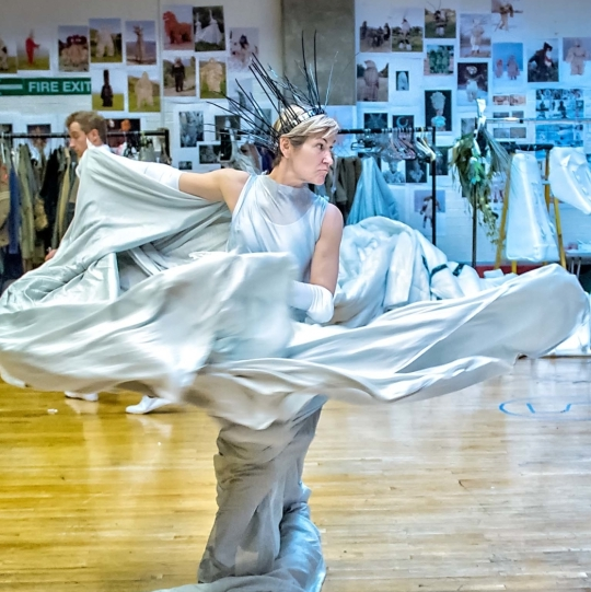 First look at The Lion, The Witch and The Wardrobe in rehearsals