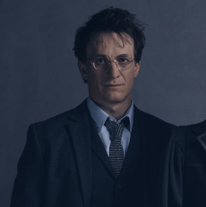 First Look: Albus, Ginny and Harry in Harry Potter play
