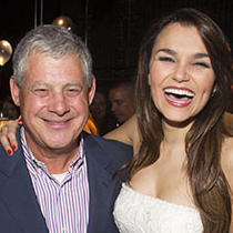 Cameron Mackintosh and Elaine Paige join cast of <em>City of Angels</em> for opening night